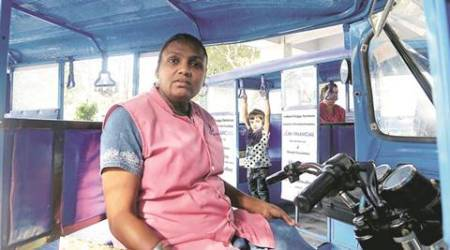 A burns patient in 2002, Best Bakery survivor joins hospital in Vadodara as a buggy pilot