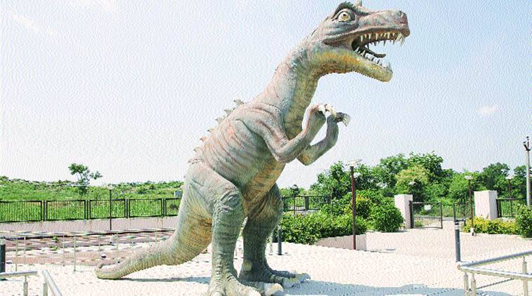 Comptroller and Auditor General, CAG, UNESCO, heritage sites, Gujarat government, neglecting Balasinor Dinosaur Fossil Park, neglecting heritage site, india news, indian express