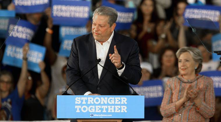 Hillary Clinton, Clinton campaign, Al Gore, 2000 US presidential elections, Gore, US presidential elections, US news, world news, latest news, Indian express