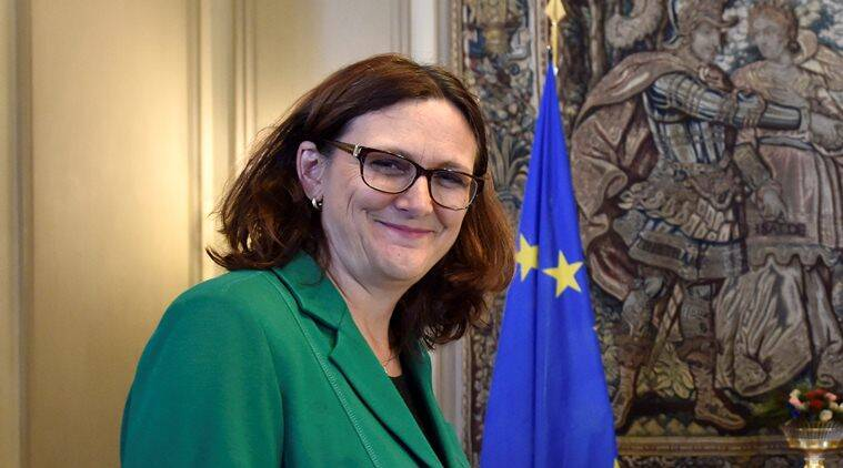 European union, US, European union US, EU US, European union US trade deal, EU US trade deal, European Union United States, US presidential elections, EU Trade Commissioner, Cecilia Malmstrom, world news