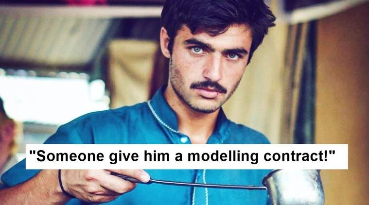 The Internet-sensation handsome Pakistani Chailwala gets first modelling contract
