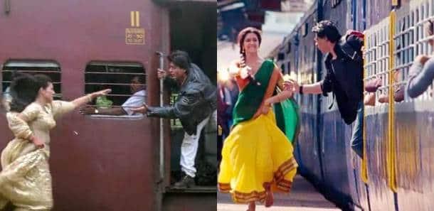 Shah Rukh Khan, Deepika Padukone, Chennai Express, Deepika Shahrukh ddlj