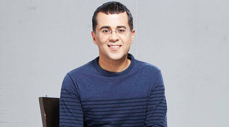 chetan bhagat, chetan bhagat advise to students, class 10 board exams, cbse, chetan bhagat class 10 results, chetan bhagat marksheet