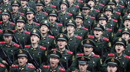 China to downsize army to under a million in biggest troop cut