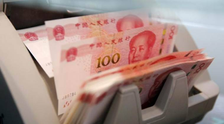 china yuan, china, hong kong stocks fall, china stocks, china yuan weak, yuan, china news, business news, indian express