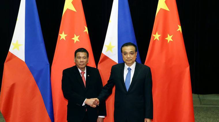 China-philippines, china philippines trade, china philippines deal, dispute, south china sea dispute, SCS, Rodrigo Duterte , Xi Jinping, world news, indian express
