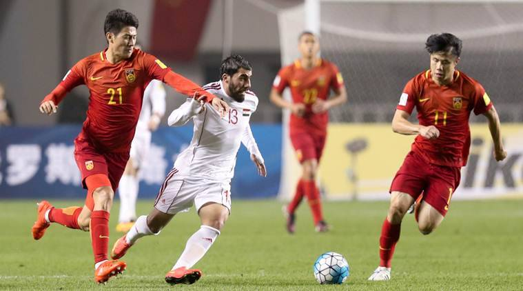 china vs syria, syria vs china, china football, football china, world cup qualifiers, 2018 world cup qualifiers, football news, football