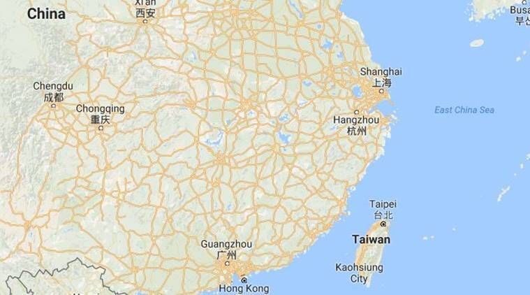 Show Map Of China.China Television Station Apologises For Not Showing Taiwan In Map