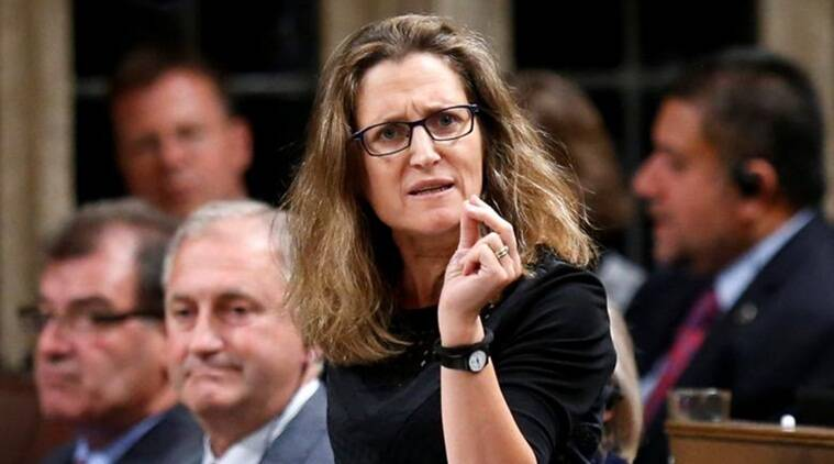 Canada, Canada European Referendum, Canada Trade minister, Chrystia Freeland, European referendum, EU referendum, European Parliament, Comprehensive Economic and Trade Agreement, World news, Indian express news