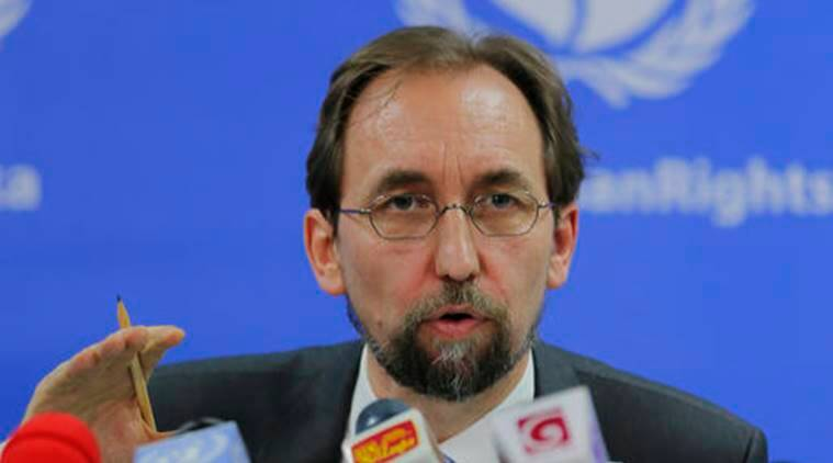UN, Zeid, Zeid speech, Zeid Ra'ad al-Hussein, UN high commissioner for human rights, vitaly turkin, donald trump, donald trump criticism, trump criticism, russian ambassador, russia, russian response, russsian ambassador chrukin, world news, indian express