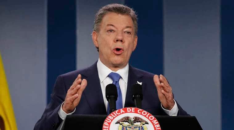 Colombia, peace deal, colombia peace deal, peace deal referendum, santos, juan manuel santos, rebel forces, colombia rebel forces, rival, Alvaro Uribe, Revolutionary Armed Forces of Colombia, FARC, world news, indian express