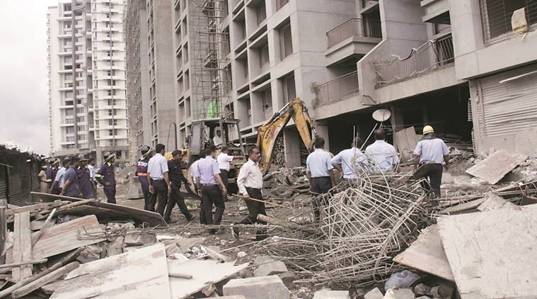 pune construction site accidents, accidents on construction sites, construction site accidents, training for accidents, india news, indian express,