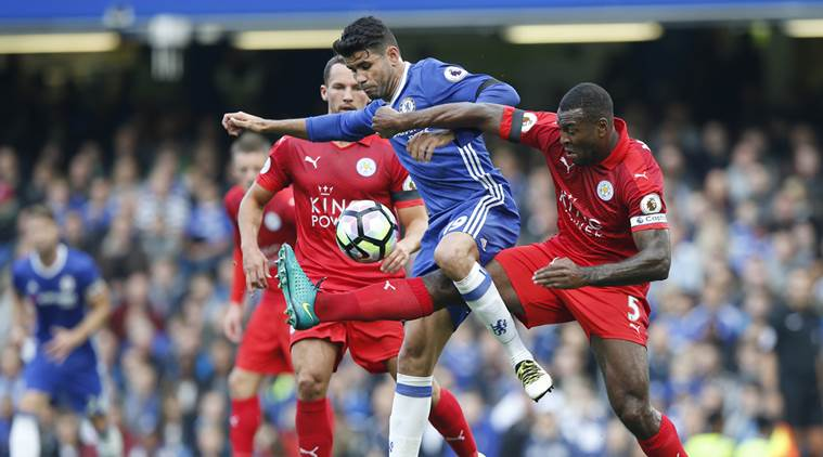 Diego Costa, Costa, Chelsea, Chelsea FC, Leicester City, Leicester, Foxes, Chelsea vs Leicester, English premier league, epl, epl scores, epl results, football, football news, sports, sports news