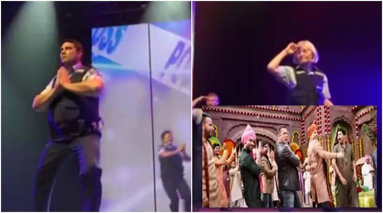 salman khan, diwali, salman khan sultan, salman khan dabbang, dabbang sultan, new zealnd police officers dance to salman songs, indian express, indian express news