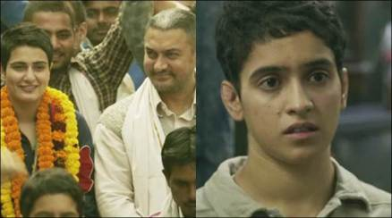 dangal, dangal movie, dangal trailer, dangal aamir khan, aamir khan, Fatima Sana Shaikh, Sanya Malhotra, dangal images