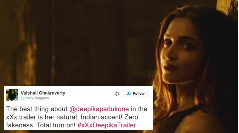 Deepika Padukone's accent has become the talk on the Internet