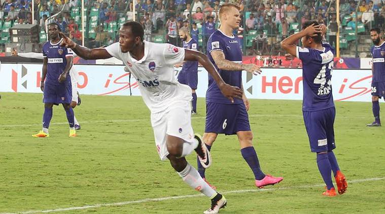isl, indian super league, isl 2016, chennaiyin fc vs delhi dynamos, chennaiyin fc, delhi dynamos, isl scores, isl results, isl table, football news, sports news