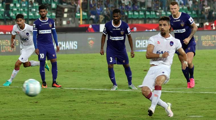 isl, delhi dynamos, kerala blasters, indian super league, isl matches, isl scores, isl delhi, isl kerala, isl marcelinho, delhi marcelinho, delhi vs chennai, kerala vs northeast, steve copell, football news, sports news