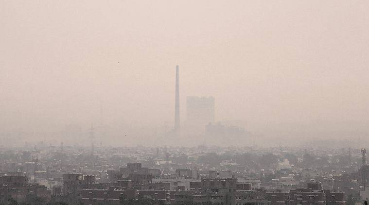 delhi, delhi pollution, delhi air pollution, delhi air quality, delhi pollutants, pollutant level, delhi air pollutant, national air quality index, R K Puram air, polluted rain, water pollution, delhi, delhi news, indian express news