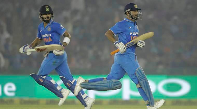 virat kohli, ms dhoni, jimmy neesham, india vs new zealand, india vs new zealand 3rd odi, india vs new zealand mohali, mohali odi, cricket news, sports news