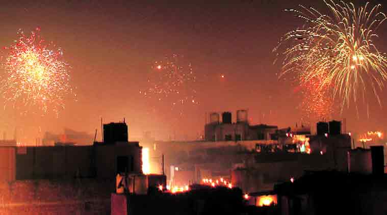 diwali crackers, noise pollution, bombay noise pollution, mumbai noise pollution, india news, indian express,