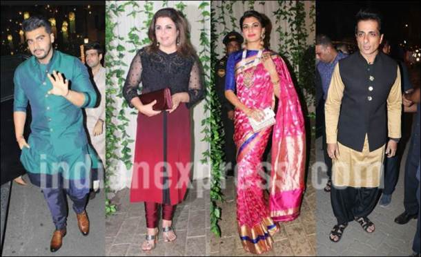 At Amitabh Bachchan's Diwali bash, stars come to party
