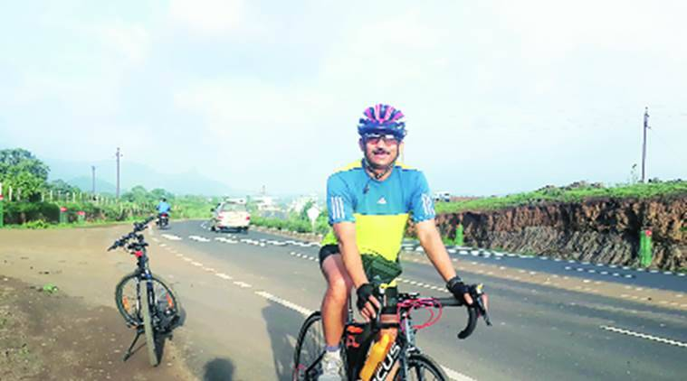 nashik doctor, cycling awareness, cleft lip awareness, nashik doctor cycling from pune to goa, doctor cycles to raise awareness, nashik doctor cleft lip awareness, india news, indian express news