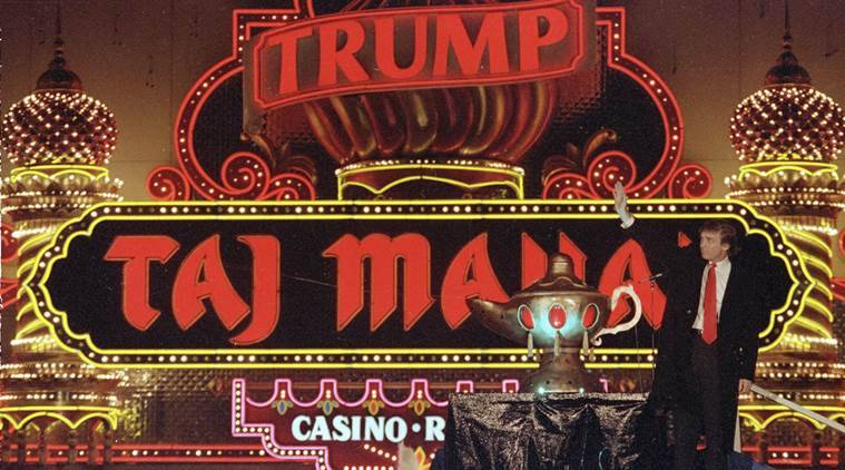 donald trump, taj mahal casino, donald trump taj mahal casino, taj mahal casino shut down, donald trump casino shut down, donald trump taj mahal, world news, indian express,