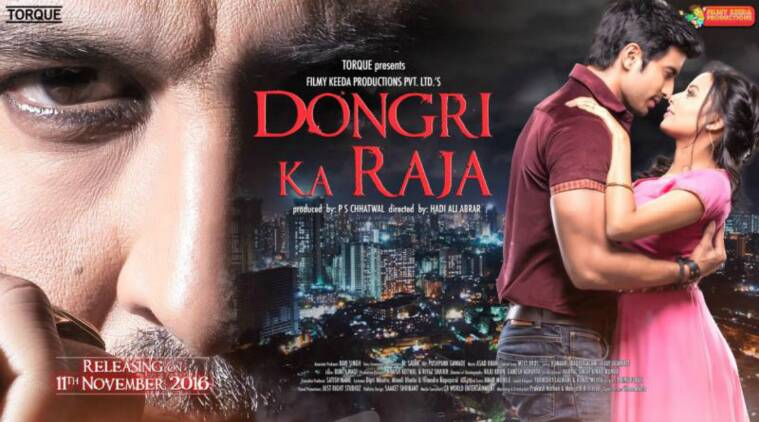 dongri ka raja, dongri ka raja motion poster, dongri ka raja poster, dongri ka raja trailer, dongri ka raja promo, Gashmeer Mahajani, Reecha Sinha, Ronit Roy, Hadi Ali Abrar, P S Chhatwal, Filmy Keeda, bollywood new film, bollywood trailers, entertainment updates, bollywood news, indian express, indian express news