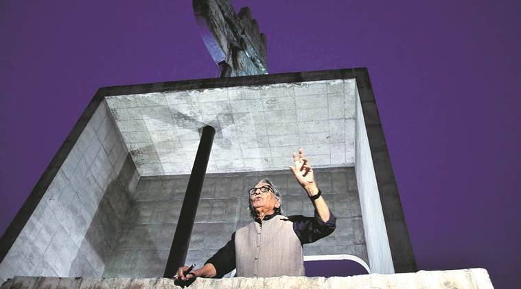 Balkrishna Doshi, Architect lecture, Capitol Complex, Le Corbusier's Vision of Capitol Complex, Chandigarh news, India news, latest news, Indian Express