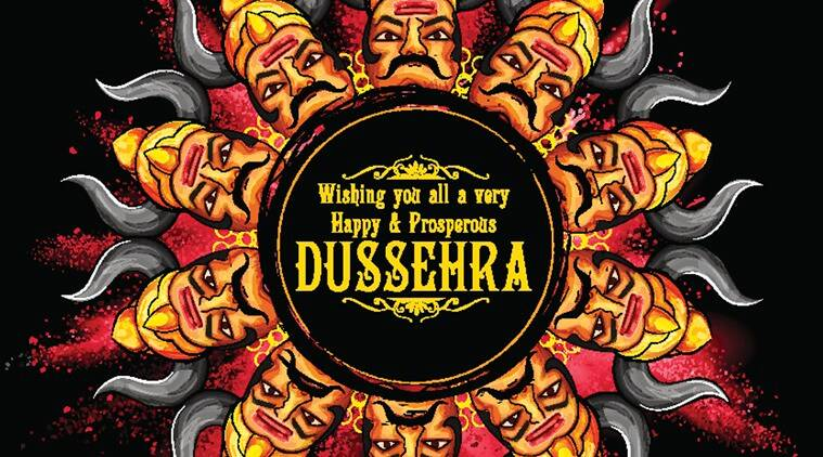 happy dussehra, happy vijayadashami, dussehra greetings, dussehra messages, vijayadashami greetings, indian express, indian express news