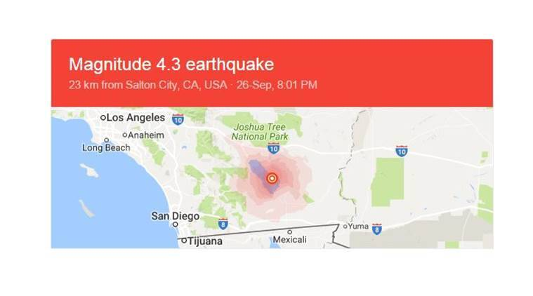 Southern California, Southern California earthquake alert, earthquake alert, US earthquake, latest news, latest world news