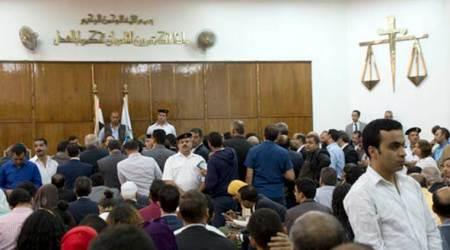 Egypt court sentences 28 to death over prosecutor Hisham Barakat killing in 2015