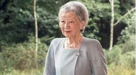 japanese empress michiko, empress michiko, emperor akihito, japan news, japan emperor, japan empress, akihito abdicate, world news, indian express