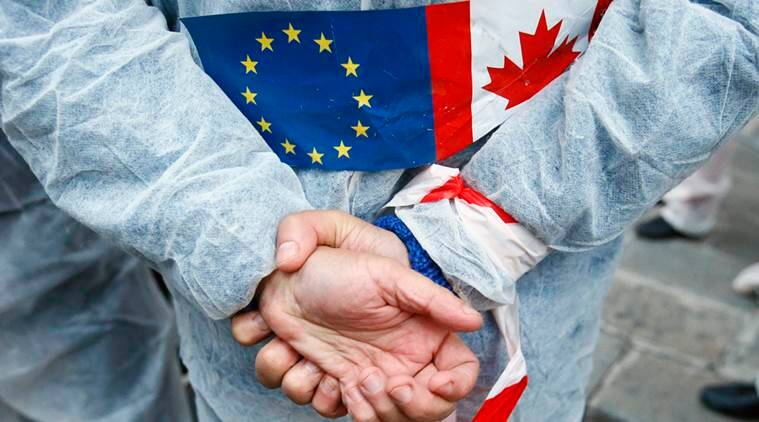 European parliament, EU-Canada trade deal, EU trade deal embarrassment, Comprehensive Economic and Trade Agreement, CETA, EU news, world news, latest news, indian express