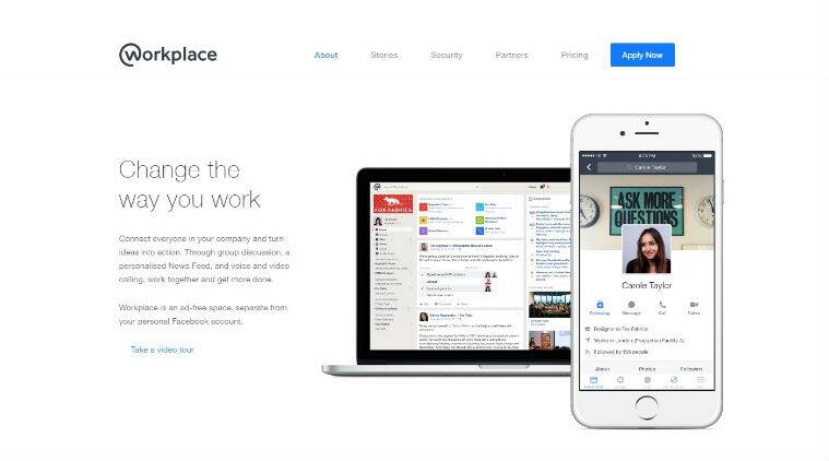 Facebook, facebook workplace, facebook workplace app, workplace app, workplace app availability, workplace app india, Presentations on facebook life, virtual brainstorming apps, facebook for workplace, workplace users, facebook workplace users, apps, technology, technology news