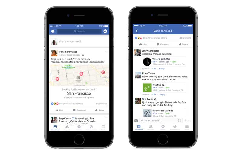 Facebook Rolls Out Recommendations Feature In Us Here S What It