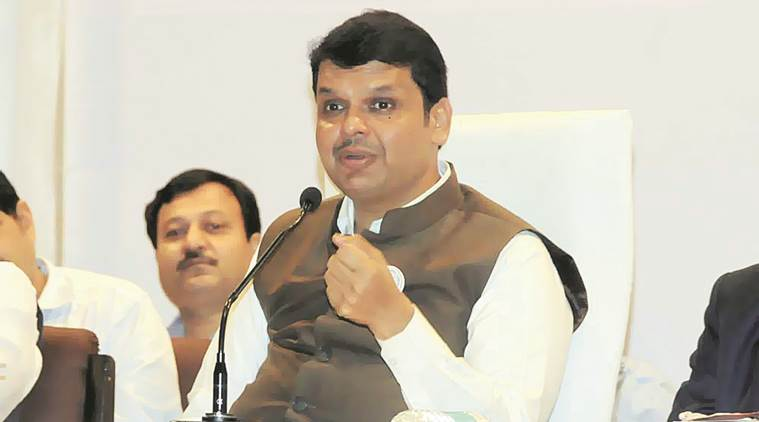 devendra fadnavis, maharashtra, maharashtra news, maharashtra cm, cm devendra fadnavis, open defecation, maharashtra open defecation, maharashtra cities open defecation free, indian express, india news