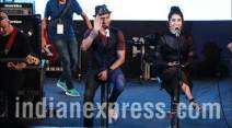 Farhan Akhtar, Shraddha Kapoor, Rock On 2, Rock On 2 trailer, Rock On 2 trailer launch, Rock On 2 movie, Rock On 2 cast