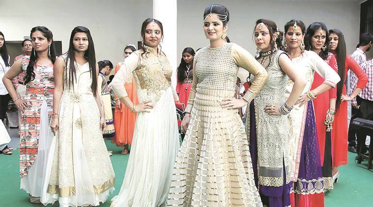 Fashion Show for Visually Impaired, national association for the blind, amway opportunity foundation, International white cane day, blind, fashion show, India news