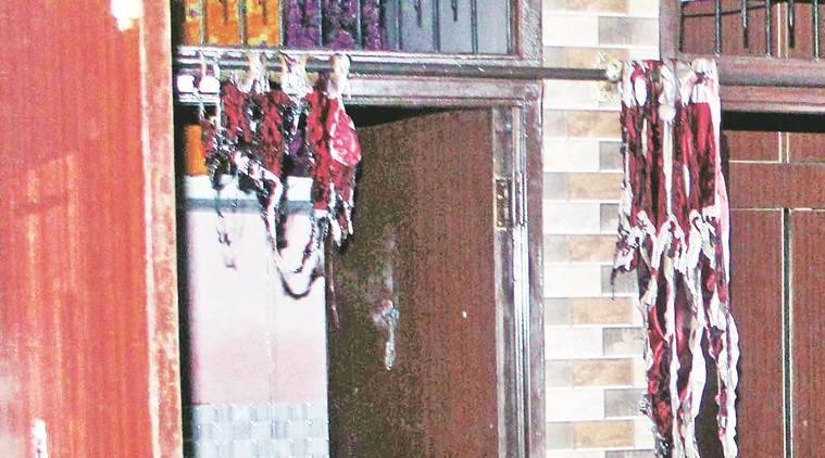 The house in Abheypur Wednesday  Express Photo