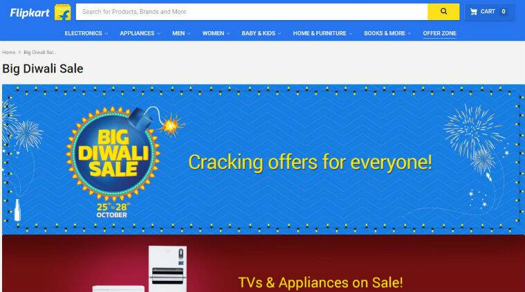 Flipkart, Flipkart big diwali sale offers, flipkart diwali offers, flipkart top diwali offers, top diwali offers online, big diwali sale, diwali discounts, diwali discounts on smartphone, diwali discounts on appliances, xiaomi, discounts on xiaomi, redmi 3s, redmi 3s prime, mi max, mi5, redmi note 3, flipkart big billion day sale, sales, india, technology, technology news