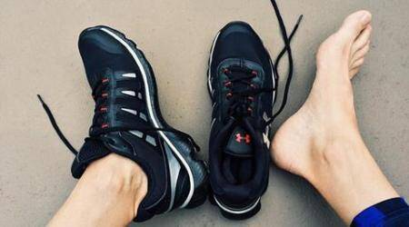 running, athlete, increase leg, foot muscles, foot pain, indian express, indian express news