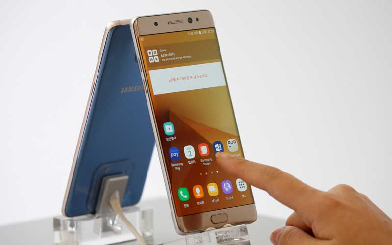 Samsung, Samsung Galaxy note 7, Galaxy note7, replacement galaxy note 7 fire, replacement galaxy note7 overheat, galaxy note 7 replacement units, galaxy note 7 sales, Galaxy note 7 incidents, galaxy note7 accidents, smartphone, technology, technology news, indian express