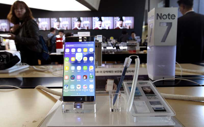 Samsung Suspends Galaxy Note 7 Production amid replacement devices catching fire