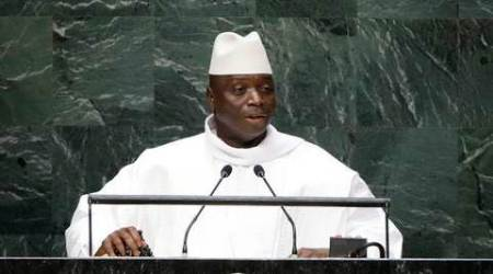 Gambia's president concedes defeat after election loss