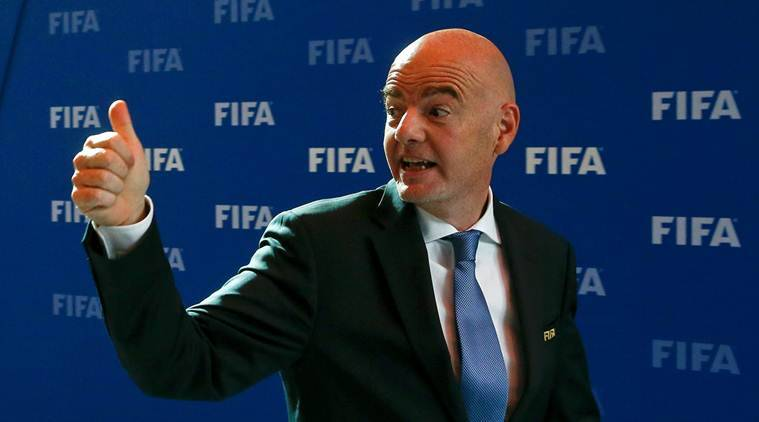 fifa, fifa world cup, world cup 2018, expanded world cup, world cup expansion, gianni infantino, football news, sports news