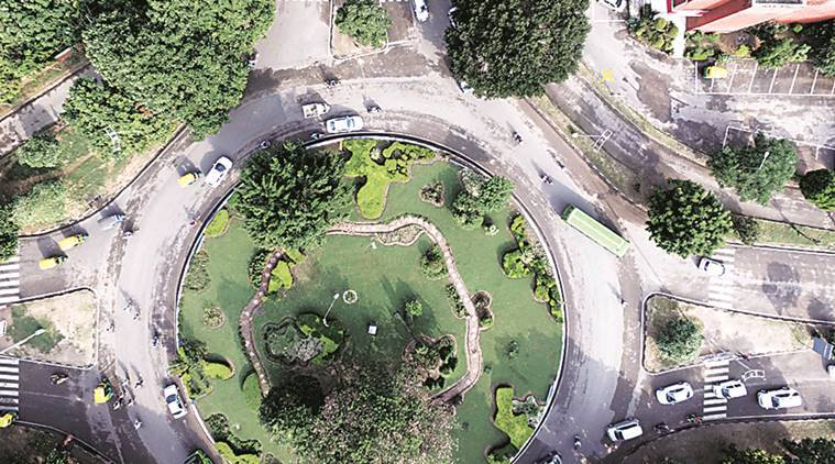 GIS mapping, geographic information system, GIS mapping Chandigarh, Drones, Chandigarh Administration, India news, Punjab news, Indian express news