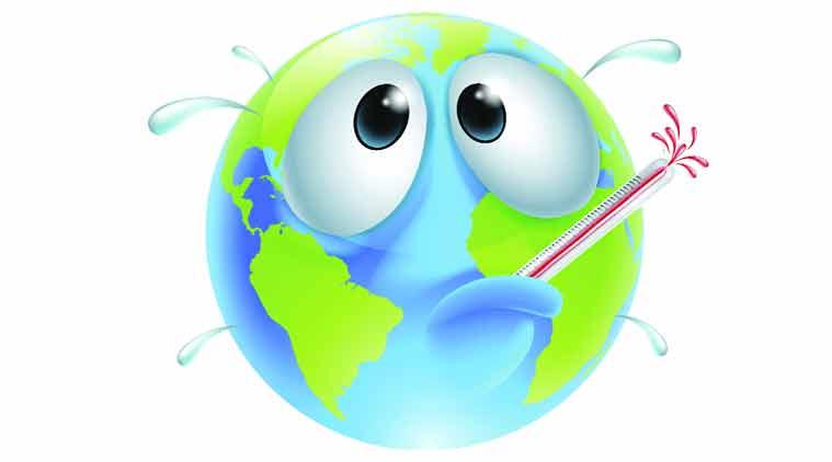 Global warming, earth, comet strike, comet strike causes global warming, Rensselaer Polytechnic Institute, microtektites, ice melting, Paleocene-Eocene Thermal Maximum, atmosphere, science, science news