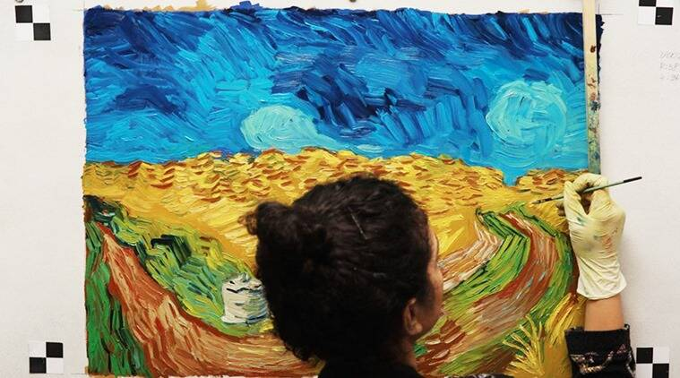 vincent van gogh, shuchi muley, shuchi muley vn gogh, van gogh latest film, van gogh movie, loving vincent film, loving vincent, loving vincent van gogh, indian express, indian express news